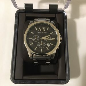 Armani Exchange Stainless Steel Watch AX2084